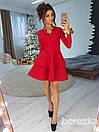 Платье из двойной пышной юбки и гипюра 66py2131, фото 2