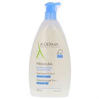 Мягкий очищающий гель для детей А-Дерма Примальба для волос и тела A-Derma Primalba Gel Lavant Douceur 750мл