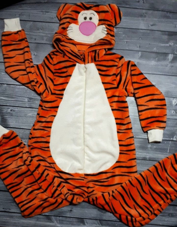 636ebe74870db Детская махровая пижама кигуруми