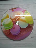 Стойка для торта вращающаяся стеклянная диаметр 30 см
