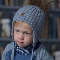 Обновление зимнего ассортимента шапок детских на 7 км! Новые модели уже в каталоге!