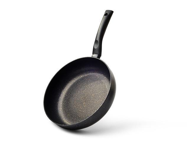 Сковорода глубокая Fissman PROMO 28 см (Каменное антипригарное покрытие с индукционным дном)