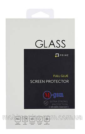 Защитное стекло XIAOMI Mi Mix2 Full Glue (0.3 мм, 2.5D) черное, фото 2