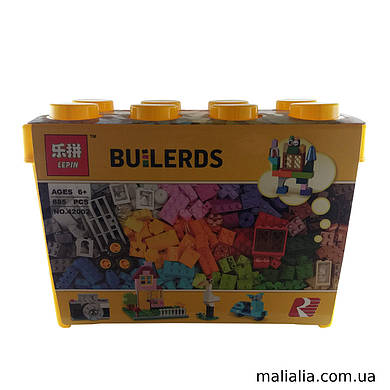 Конструктор блочный Lepin BUILDER 840д (42002)