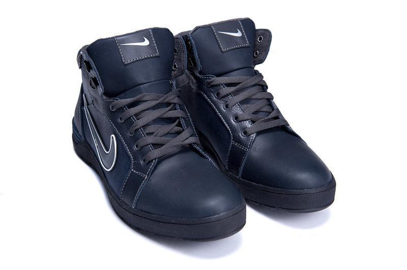 ef5f0b40 Мужские зимние кожаные ботинки в стиле Nike Anti-Core - Yose  интернет-магазин спортивной