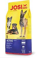 Сухой корм JosiDog ACTIVE 25/17 (ЙозиДог Актив) для взрослых активных собак, 18 кг