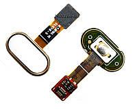 Сенсорна кнопка для Meizu M5 – шлейф кнопки meizu m 5 + сенсорна кнопка Мейзу М5 золота