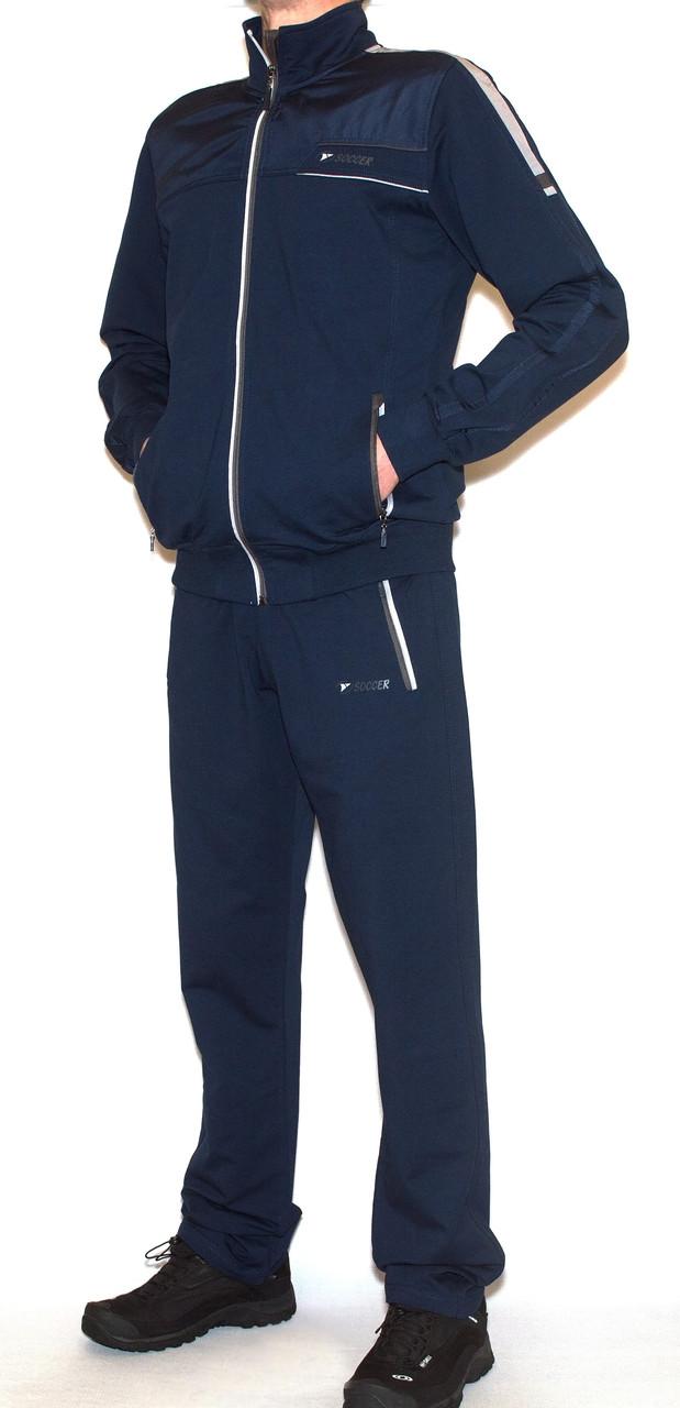 Спортивный костюм мужской soccer 11177 (M-XL)