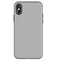 Чехол накладка Primo Case Lux для Apple iPhone X / iPhone XS - Light Grey