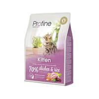 Корм для котят  Profine Cat Kitten 2 кг курица, профайн для котят от 1 до 12 месяцев