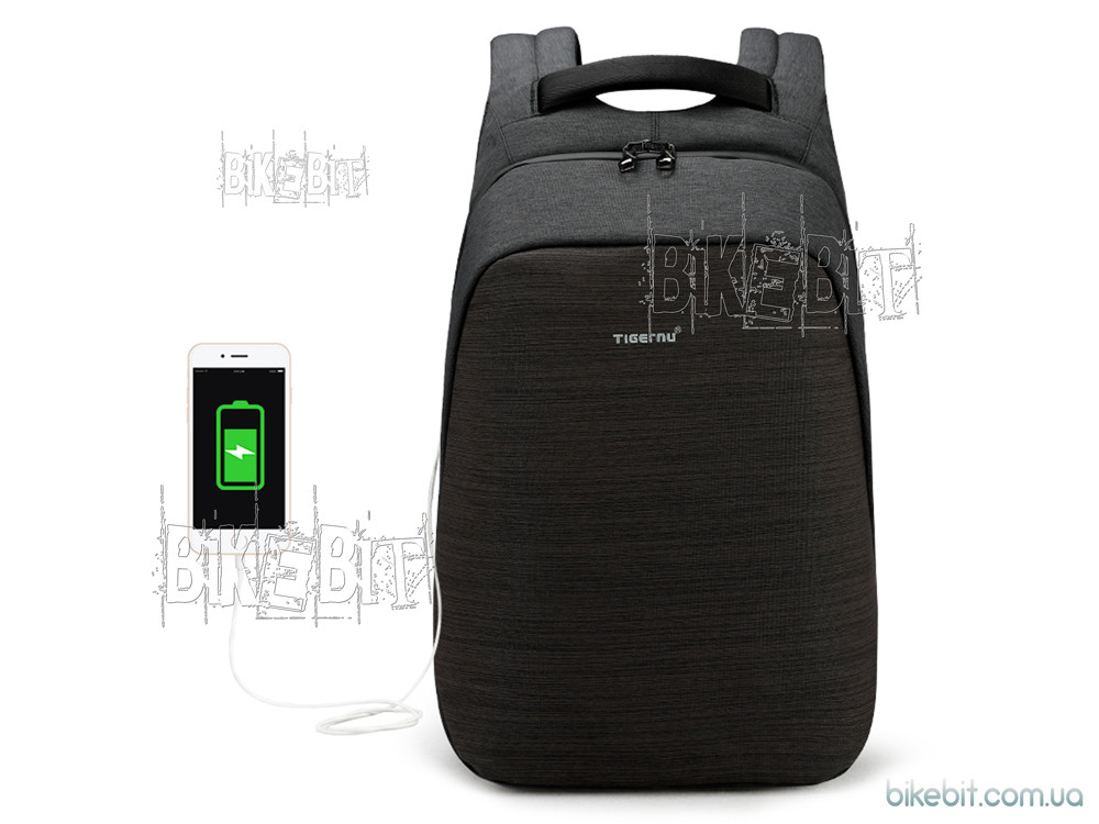 Рюкзак городской Tigernu T-B3351 USB черный