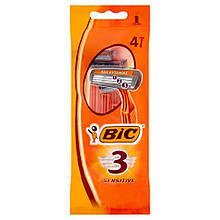 Bic 3 Sensitive станки для бритья /3 лезвия/ 4шт