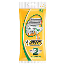 Bic 2 Sensitive станки для бритья /2 лезвия/ 5шт