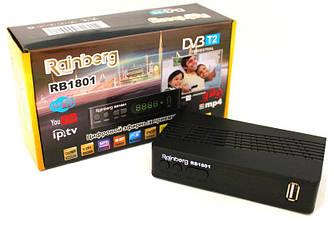 Ресивер,Приставка т2,Тюнер+YouTube + IPTV + Full HD Rainberg
