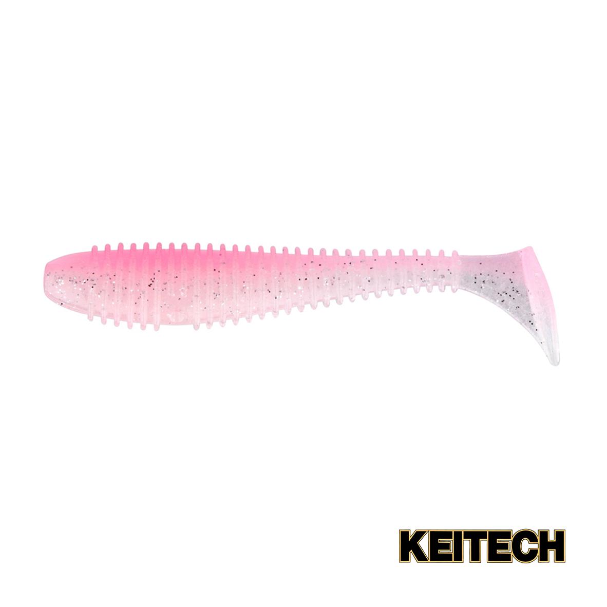 "Силикон Keitech Swing Impact FAT 4.3"" (5 шт/упак) ц:ea#10 pink si"