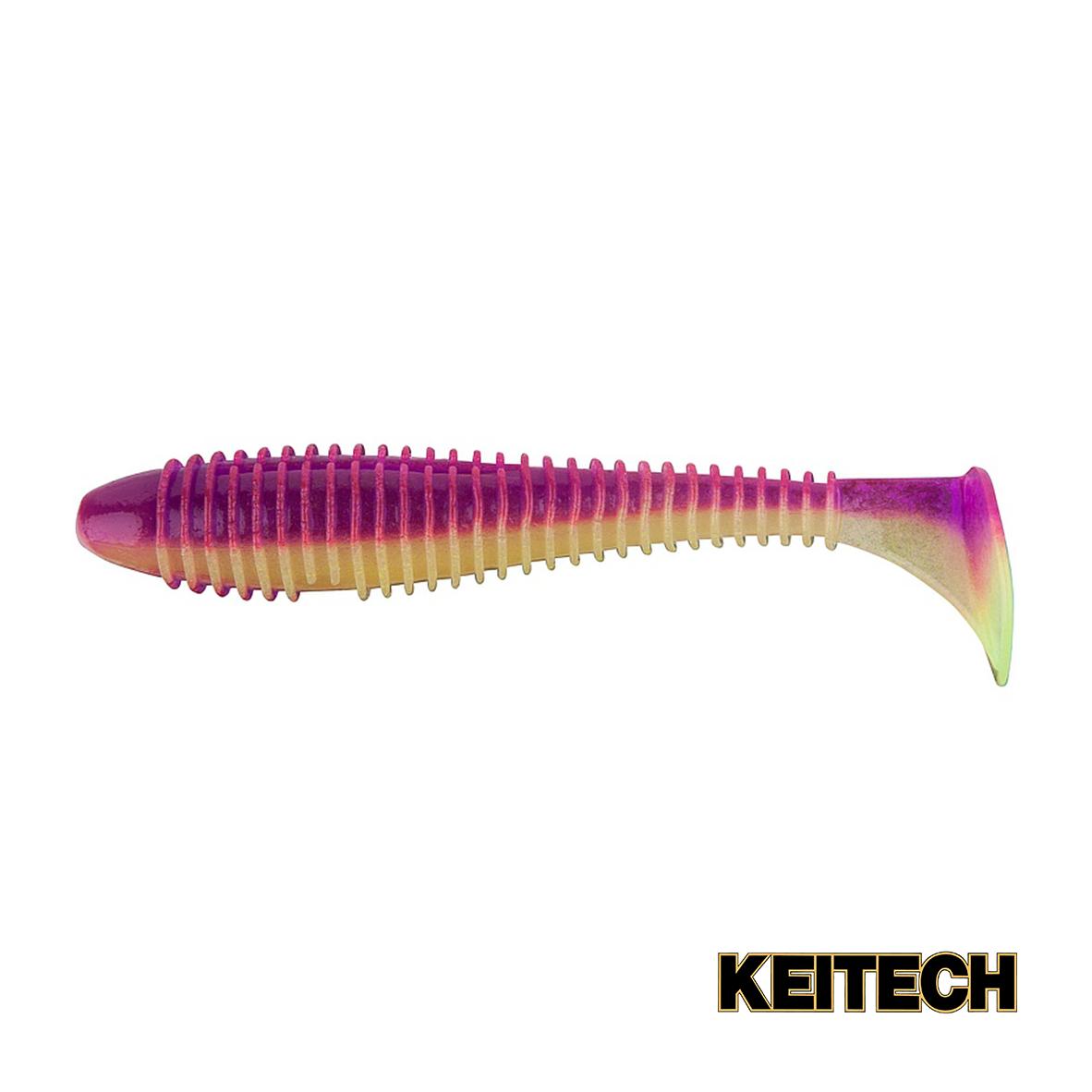 "Силикон Keitech Swing Impact FAT 3.8"" (6 шт/упак) ц:pal#14 glamor"
