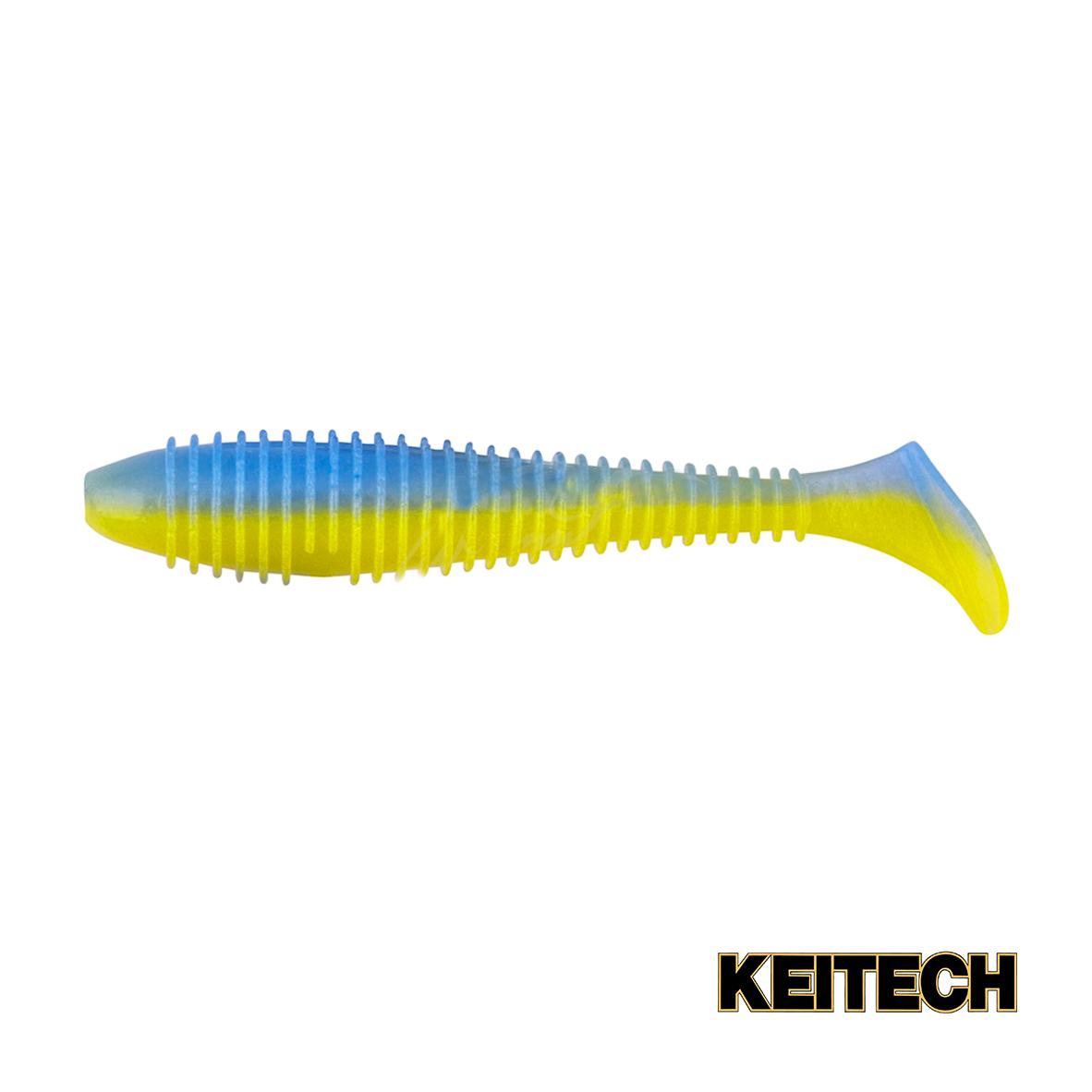 "Силикон Keitech Swing Impact FAT 3.3"" (7 шт/упак) ц:ea#12 ua limi"
