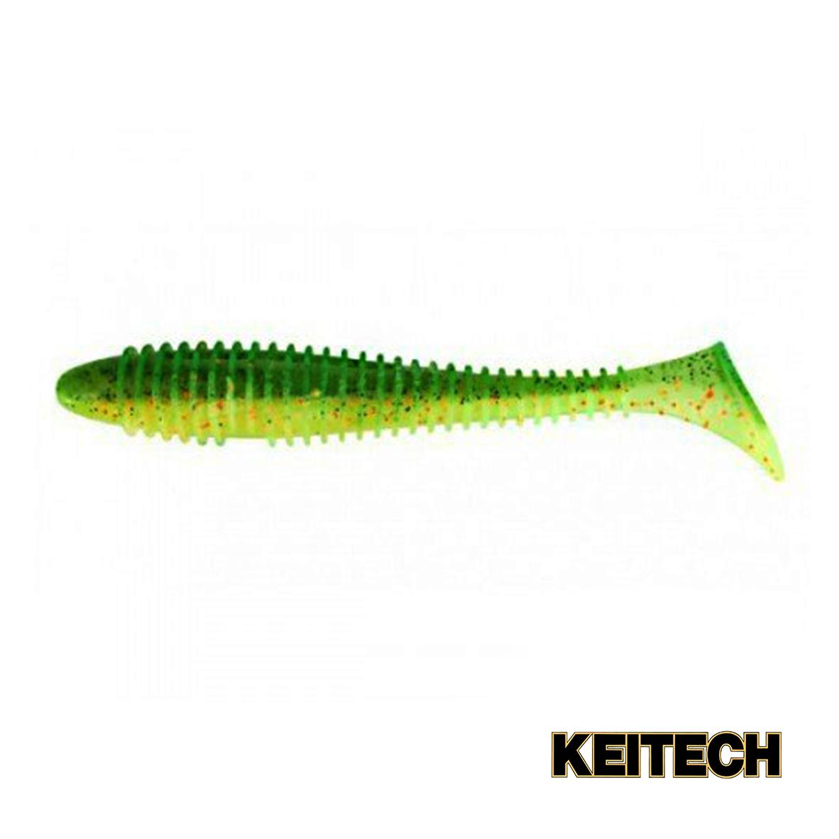 "Силикон Keitech Swing Impact FAT 3.8"" (6 шт/упак) ц:ea#05 hot fir"