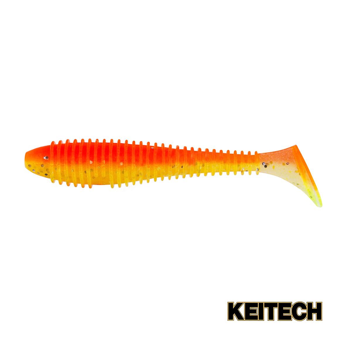 "Силикон Keitech Swing Impact FAT 3.8"" (6 шт/упак) ц:pal#04 sun sh"
