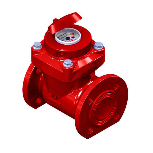 Счетчик Gross WPW-UA турбинный 65 мм для горячей воды фланец