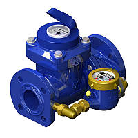 Счетчик Gross WPVD-UA комбинированный 80 мм для холодной воды фланец
