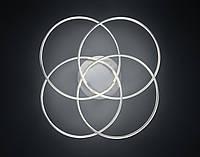 Потолочный светильник Loop nickel mat, фото 1