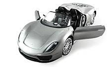 Машинка радиоуправляемая 1:14 Meizhi Porsche 918 (серый)