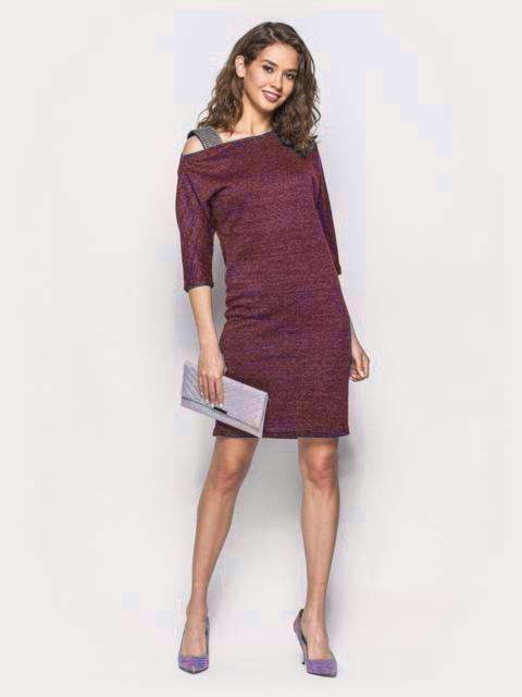 bad0463e4a3 Платье плечико из люрекса