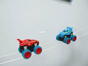 Набор Trix Trux на 2 машинки Трикс Тракс монстр-траки машинка вездеход ездит по веревкам монстер трек подарок, фото 2
