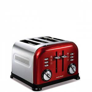 Тостер на 4 тоста Морфи Ричардс Тостер Red Accents