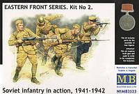 1:35 Советская пехота в бою, Master Box 3523;[UA]:1:35 Советская пехота в бою, Master Box 3523