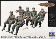 1:35 Немецкая пехота едет на фронт, Master Box 35137;[UA]:1:35 Немецкая пехота едет на фронт, Master Box 35137