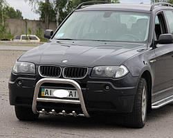 Кенгурятник на BMW X3 (2004-2010) (d60) 60*2