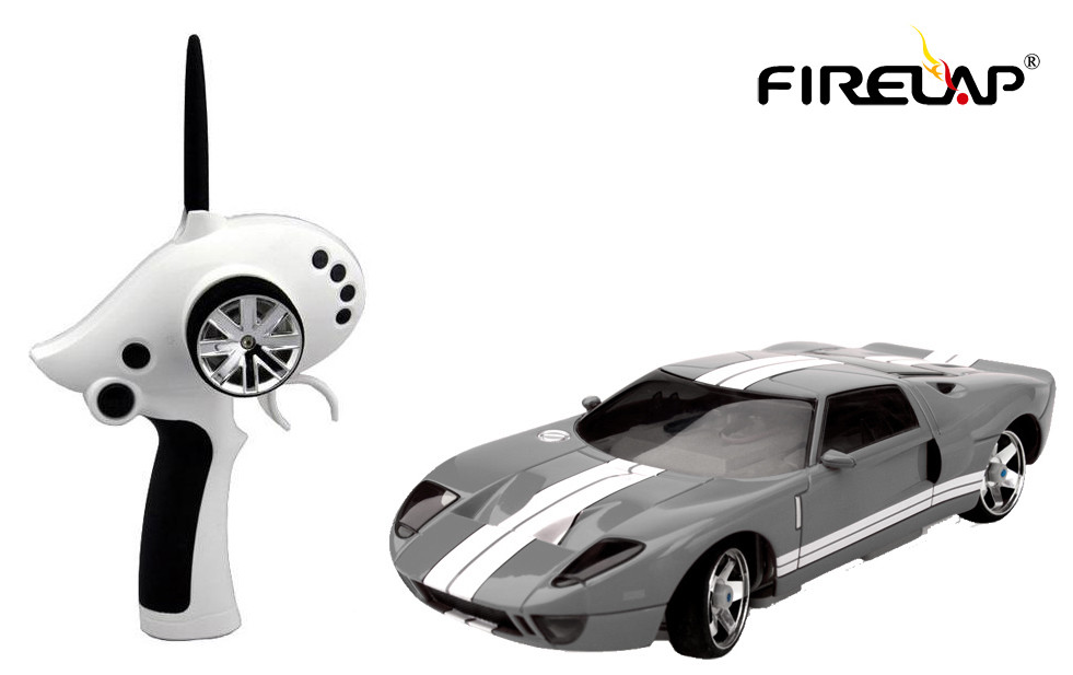 Автомодель р/у 1:28 Firelap IW02M-A Ford GT 2WD (серый)