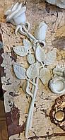 Декор для памятников. Накладка декоративная Розы из мрамора