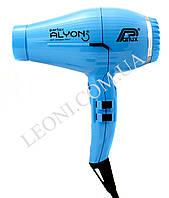 Профессиональный фен голубого цвета для волос Parlux Alyon 2250 w