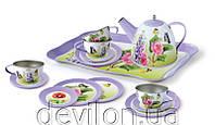 """Набор посуды игровой чайный """"Бабочка"""", арт. CH41025"""