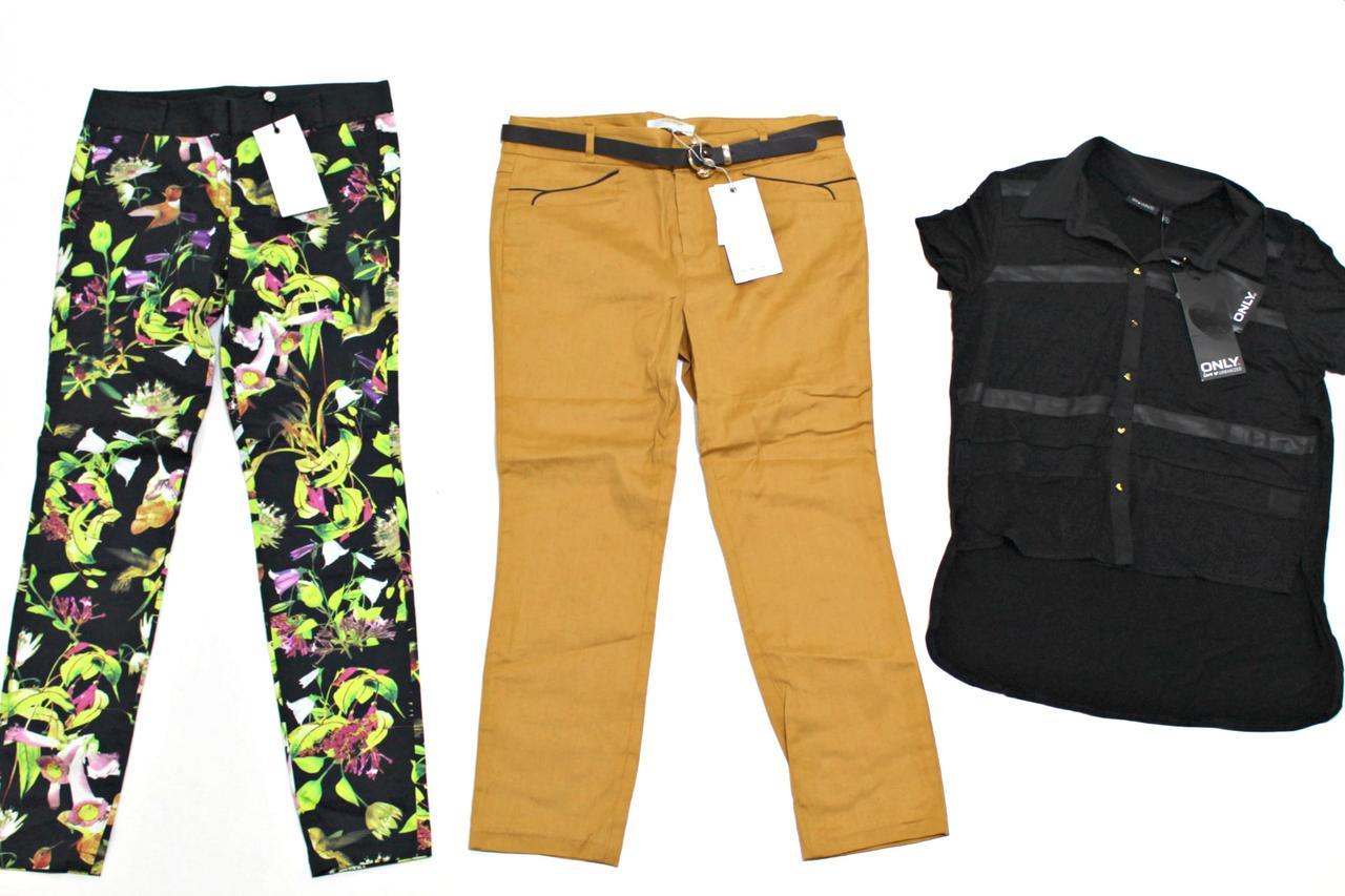 Сток Микс женская одежда платья штаны юбки блузы Дания VERO MODA и ONLY !!!!! Оптом от 25 кг