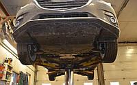 Защита под двигатель и КПП  Рено Лагуна 3 (Renault Laguna III) 2007-2015 г