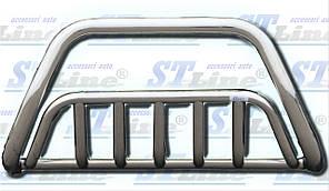 Защита на передний бампер  BMW X5 E-53 1999-2006 гг. 60*2