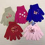 Детские перчатки для девочки начёс , фото 2