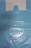 Пакет майка Монтана синяя 40*60 100шт/уп