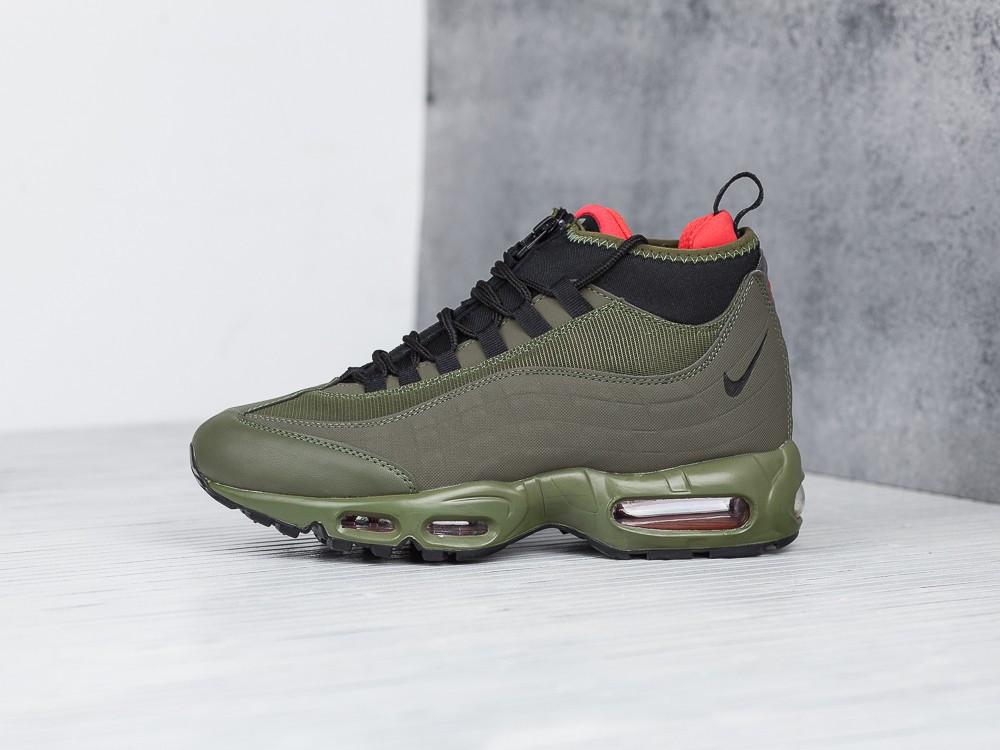 Мужские Зимние Кроссовки Nike Air Max 95 Sneakerboot Green — в ... 5b778d31976