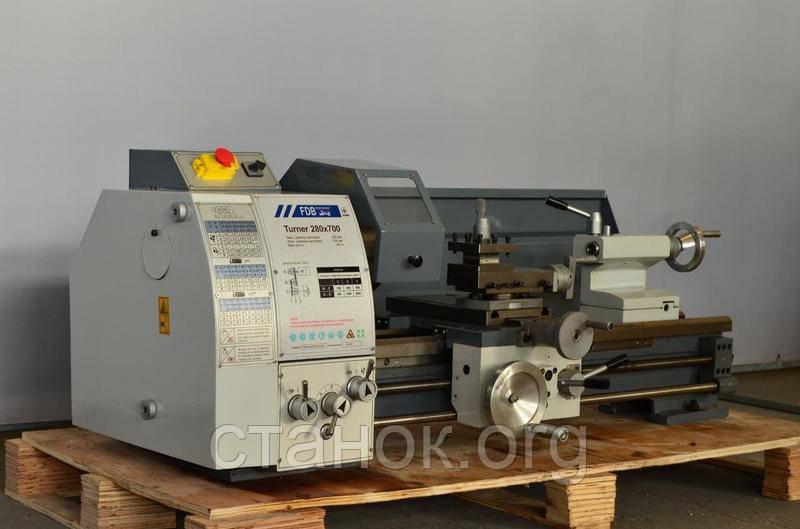 FDB Maschinen Turner 280-700 Токарный станок по металлу фдб 280 700 тюрнер машинен