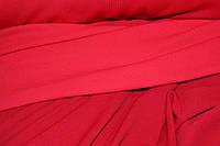 RED.Ткань трикотаж кукурузка красный классика