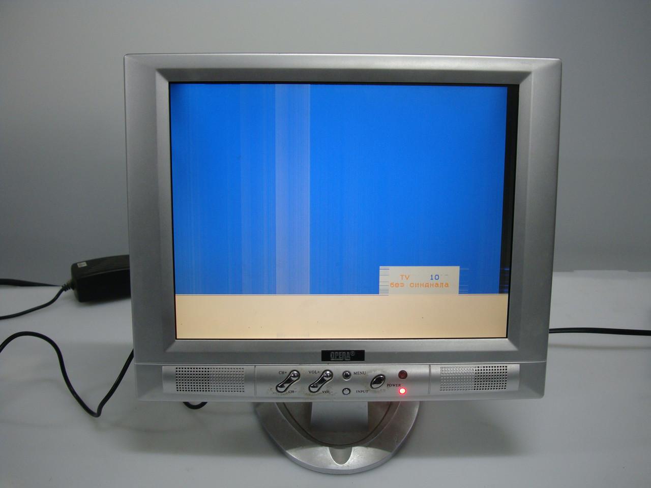 """Маленький телевизор  ЖК 11"""" Opera на запчасти или под восстановление"""