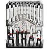 Набор инструментов в чемодане 127 предметов Boxer BX-599, набор ключей и отвёрток, инструменты для дома, фото 2