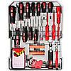 Набор инструментов в чемодане 127 предметов Boxer BX-599, набор ключей и отвёрток, инструменты для дома, фото 4