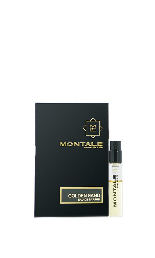 Парфюмированная вода Montale GOLDEN SAND vial spray унисекс 2 мл Код 12550