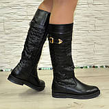 Женские зимние кожаные сапоги на низком ходу. 38 размер (2пары), фото 3